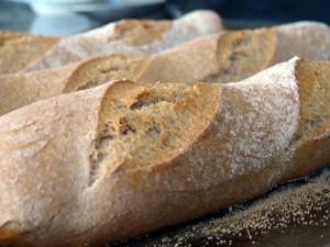 10APR2012 Baked Poolish Baguettes