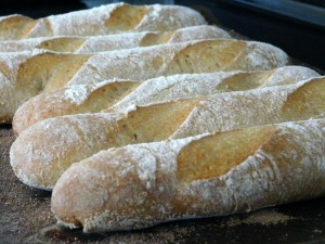 17APR2012 Poolish Baguettes