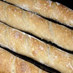 Natural Yeast Baguettes